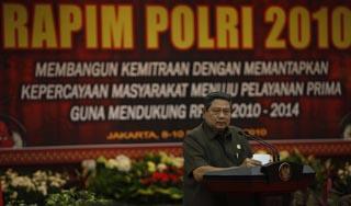 Presiden SBY: Jasa Polri Sering Dilupakan Masyarakat