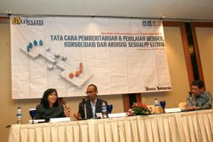 Tata Cara Pemberitahuan & Penilaian Merger, Konsolidasi dan Akuisisi  Sesuai PP 57/2010