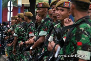 Ketua MA Nyatakan Prajurit TNI 'Bisa Bercerai' Tanpa Izin Komandan