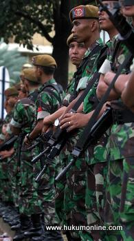 LSM Kritik Penggunaan KUHP Militer untuk Kasus Papua