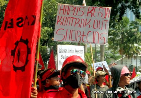 Pemerintah Dituntut Perketat Syarat Outsourcing
