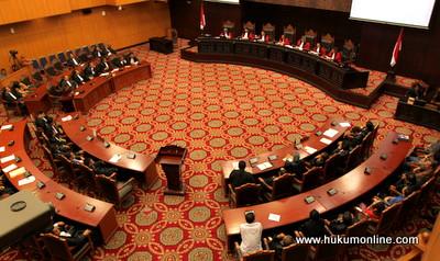 UU Pemilu Legislatif Dinilai Diskriminatif