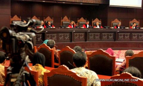 MK: Pembagian DBH Migas Konstitusional
