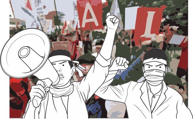 Jika Buruh Ikut Demo pada Jam Kerja