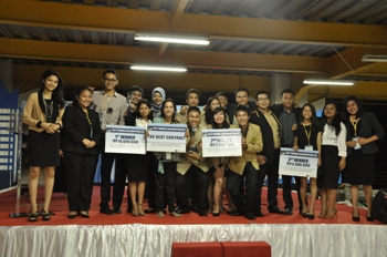 Kampus Bandung Berjaya di Business Law Competition 2013