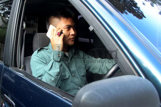 Hilang Konsentrasi Karena Handphone, Pengemudi Masuk Bui
