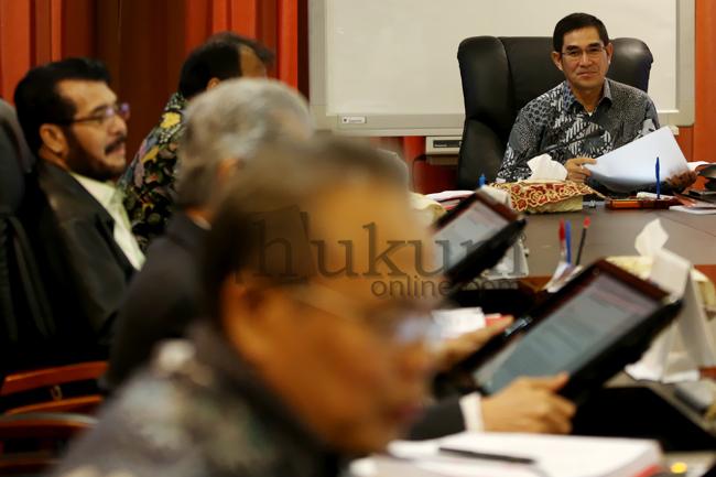 MK Gelar Rapat Permusyawaratan Hakim