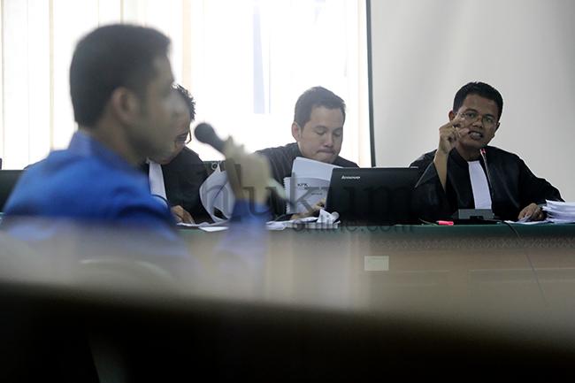 Nazaruddin Bersaksi di Sidang Anas Urbaningrum