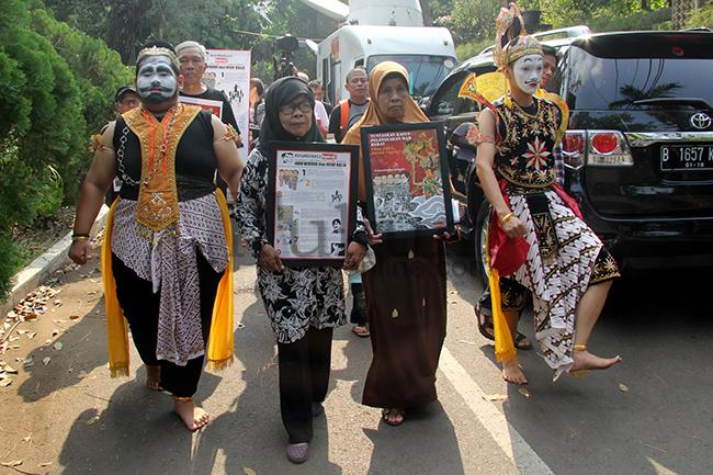 Rumah Transisi Jokowi-JK Didemo Aktivis HAM