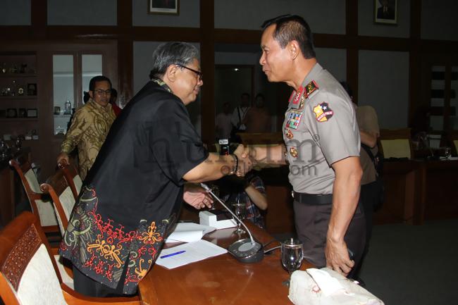 Baleg DPR dan Kapolri Bahas RUU Kepolisian