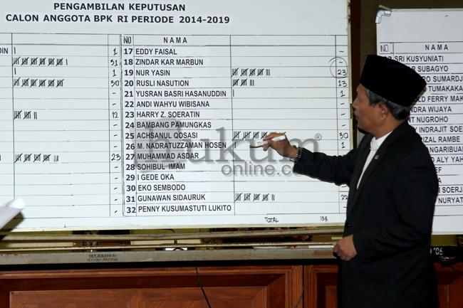 Komisi XI DPR Gelar Pemungutan Suara Pemilihan Anggota BPK