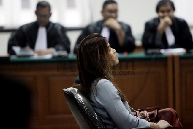 Artha Meris Jalani Sidang Eksepsi di Pengadilan Tipikor