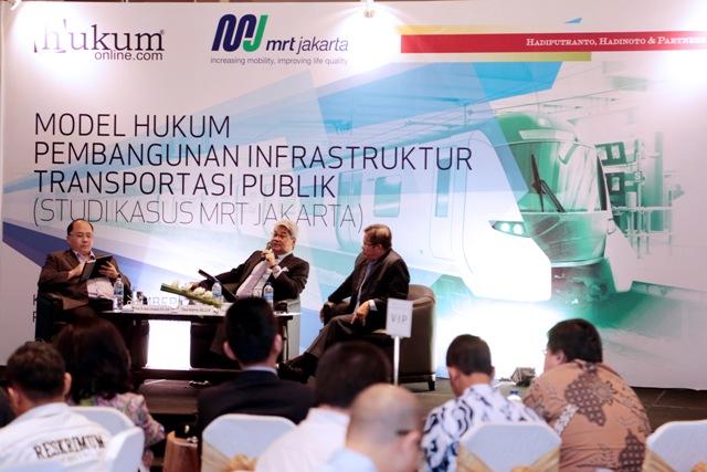 Model Hukum Pembangunan Infrastruktur Transportasi Publik (Studi Kasus MRT Jakarta)