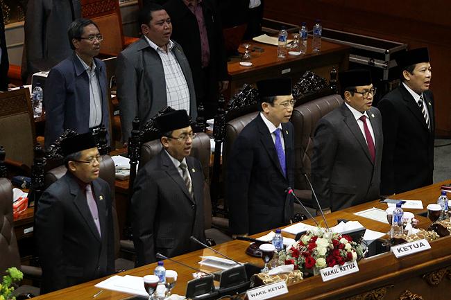Sidang Penutupan Masa Bakti Anggota DPR RI 2009-2014