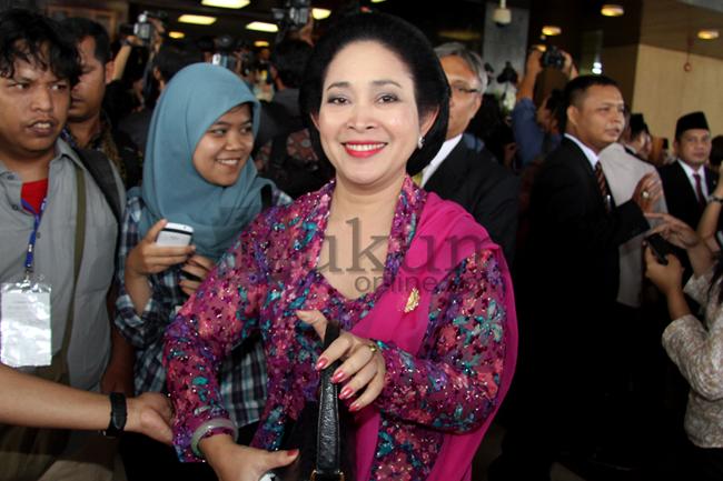 Figur Publik di Acara Pelantikan Anggota DPR 2014-2019