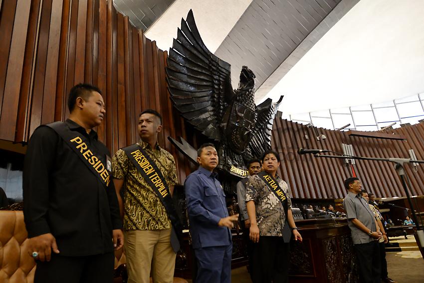 Gladi Kotor Pelantikan Presiden RI 2014-2019