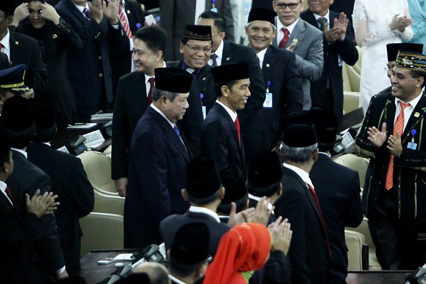 Jokowi Bersanding dengan SBY