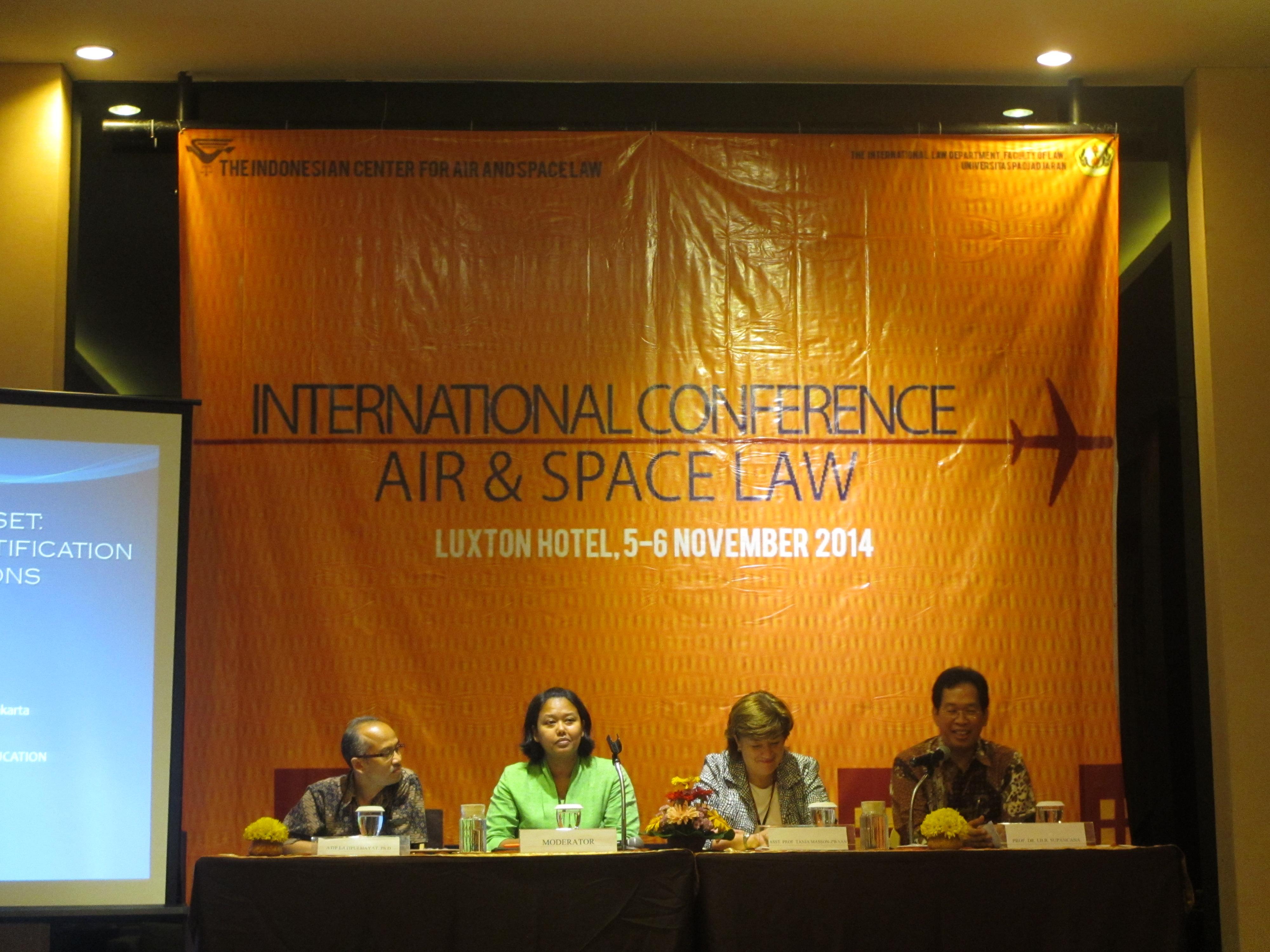 FH Unpad Gelar Konferensi Hukum Udara dan Angkasa