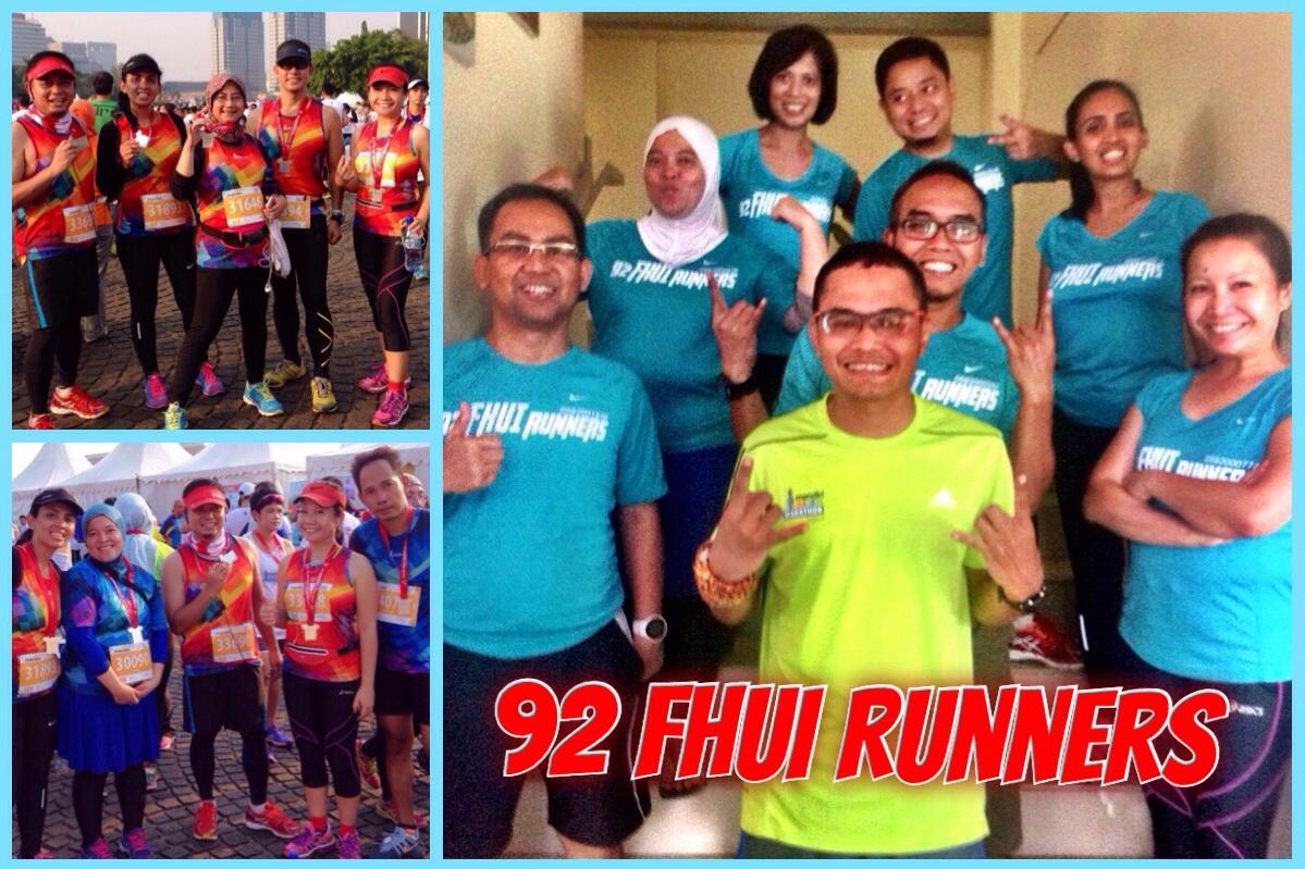 FHUI 1992 Runners: Kiat Menjaga Sehat