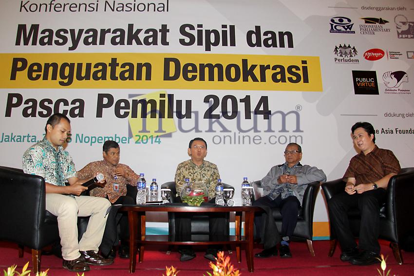 ICW Gelar Diskusi Tentang Peta Korupsi Pemerintahan Baru