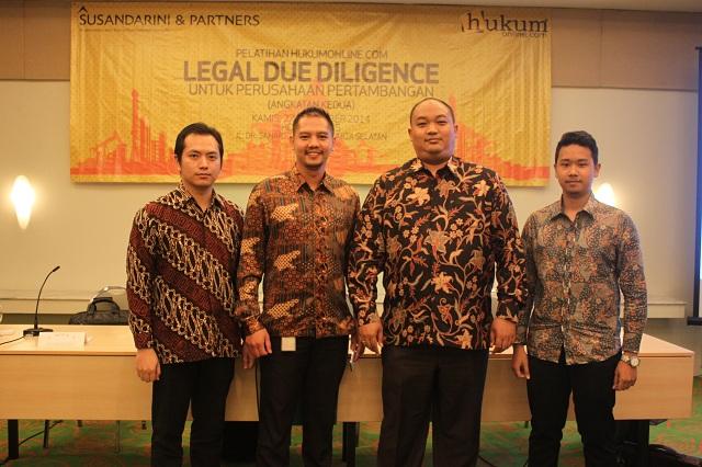 Legal Due Diligence Untuk Perusahaan Pertambangan (Angkatan Kedua)