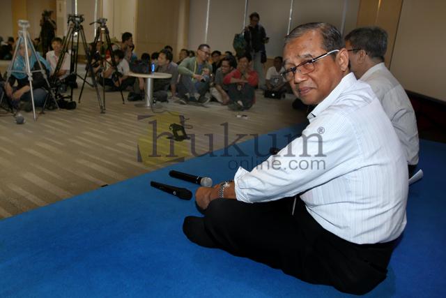 Busyro Muqoddas Berpamitan dengan Kalangan Wartawan