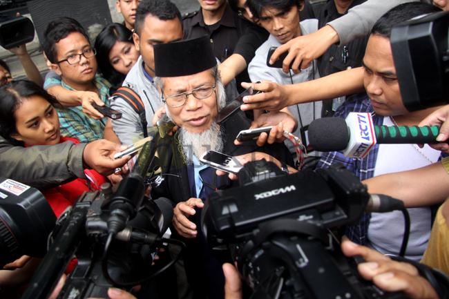 Hasyim Muzadi dan Abdullah Hehamahua Sambangi KPK