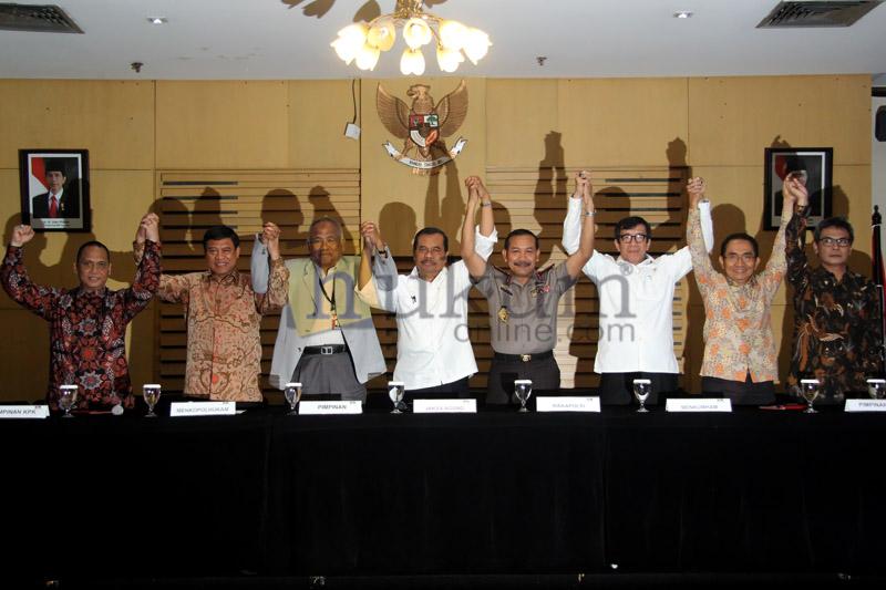 KPK Konferensi Pers Terkait Pelimpahan Perkara BG