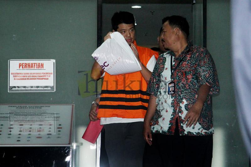 Pengusaha Andrew Hidayat Ditahan KPK