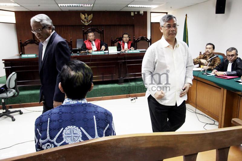 Akil Mochtar Bersaksi di Sidang Kasus Bonaran