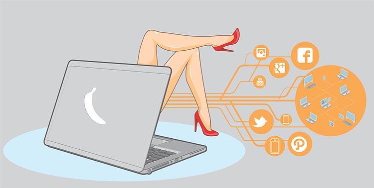 Ini Jerat Hukum untuk Penjaja Seks di Media Sosial