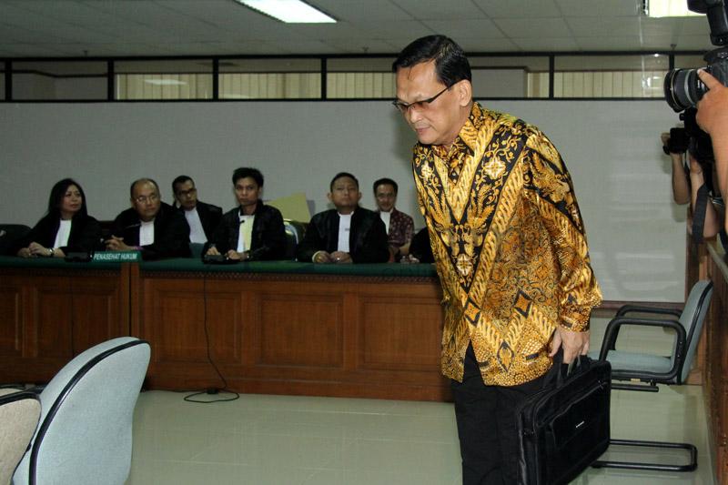 Eks Wakakorlantas Divonis 5 Tahun Penjara