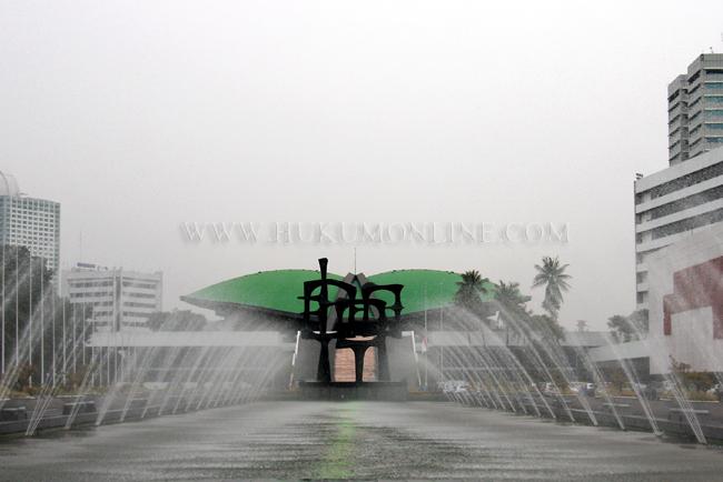 Gedung DPR. Foto: RES