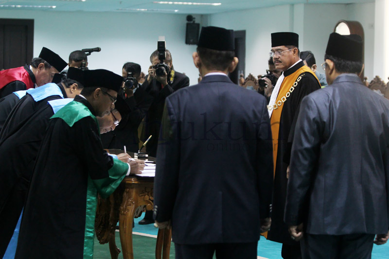 Ketua MA: Pimpinan Pengadilan Tidak Boleh Gaptek