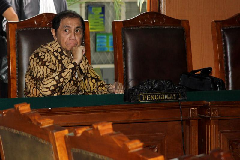 Hadi Poernomo Jalani Sidang Praperadilan Tanpa Pengacara