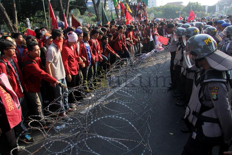 Demonstrasi Mahasiswa Tuntut Jokowi Mundur