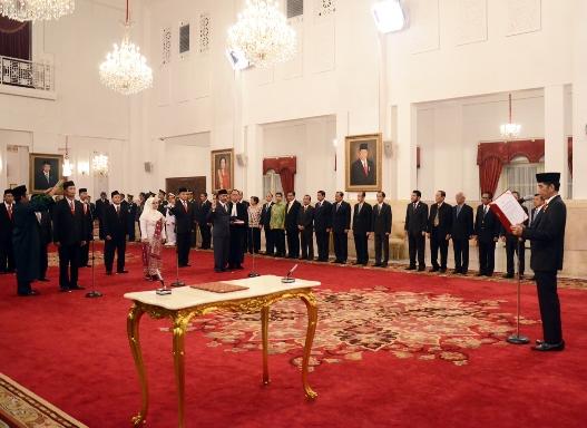 Presiden Jokowi Lantik Sembilan Anggota Komisi Kejaksaan
