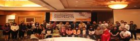 Foto bersama peserta, narasumber, dan Pak A. Zen Umar Purba (Ketua Yayasan ABNR)