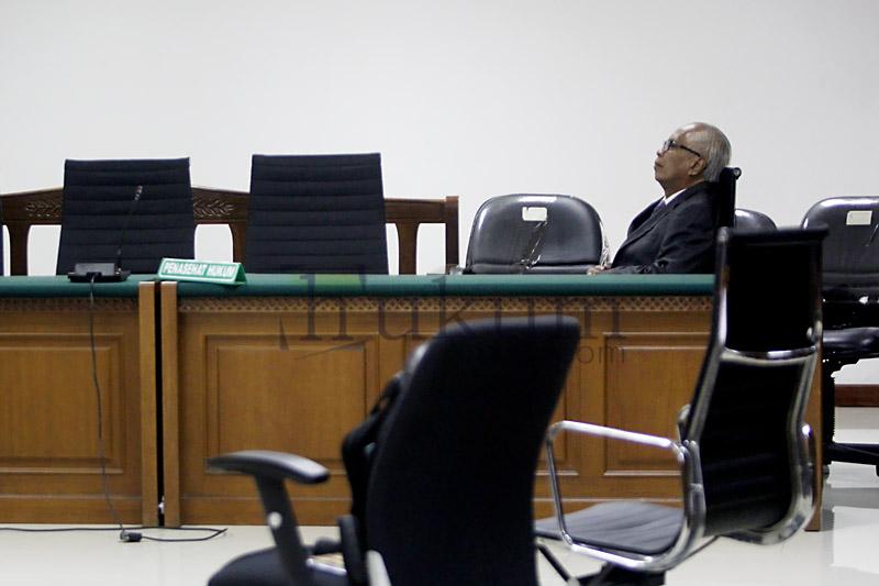 OC Kaligis Tolak Dakwaan Dibacakan