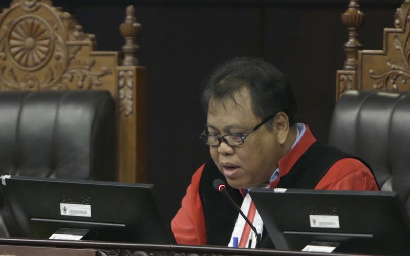 Usai Dilantik, Arief Hidayat: Saya Siap Jika Tidak Dipilih Sebagai Ketua MK