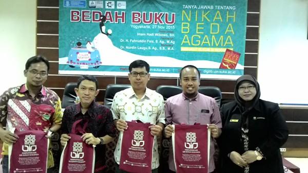 UIN Yogyakarta Gelar Acara Bedah Buku Tentang Nikah Beda Agama