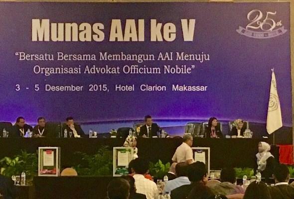 Jadi Nahkoda AAI, Ismak Fokus Peningkatan Kualitas Advokat