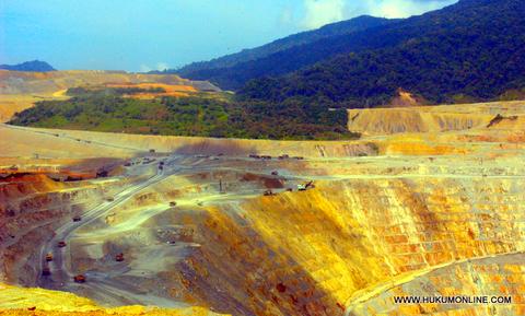 Negosiasi Pemerintah dengan Freeport Indonesia Sepakati Badan Hukum dan Smelter