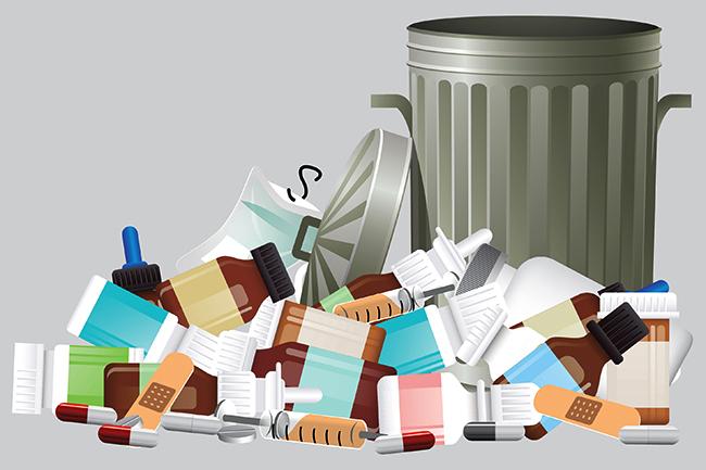Sanksi Membuang Sampah/Limbah Medis Sembarangan