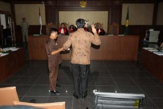 Gubernur Ahok Bersaksi di Pengadilan Tipikor