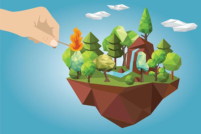 Bolehkah Mencari Nafkah dengan Menebang Pohon di Hutan?