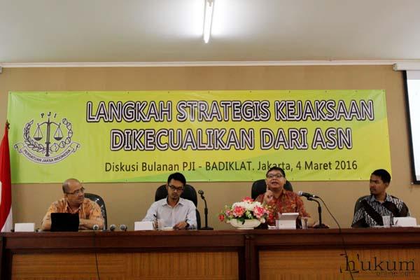 Diskusi Persatuan Jaksa Indonesia dengan tema