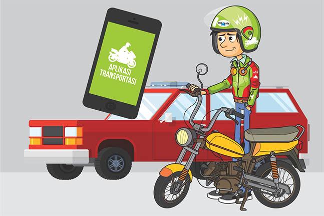 Hasil gambar untuk transportasi online
