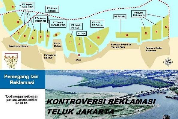 DPR dan pemerintah sepakat menghentikan sementara proyek reklamasi di  pantai Teluk Jakarta dan Bekasi serta Tangerang. Hal ini dikarenakan masih  terdapat ... 87284d0da8