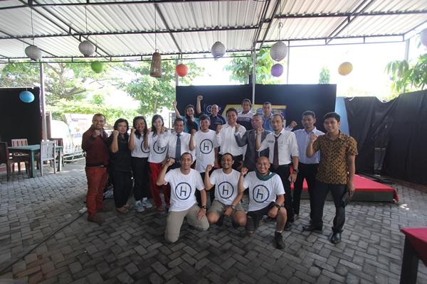Tim Lawyers Go Hike 2016 Disambut DPC PERADI Mataram